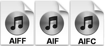Форматы AIFF, AIF и AIFC
