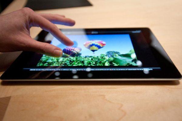 Дисплей Retina в iPad
