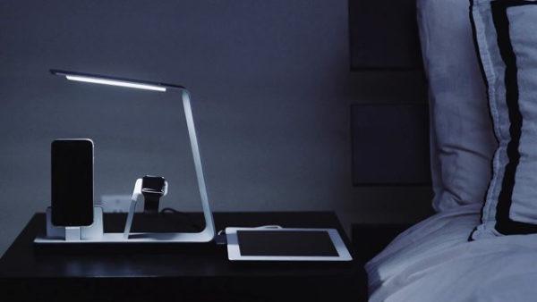 NuDock в качестве прикроватного светильника