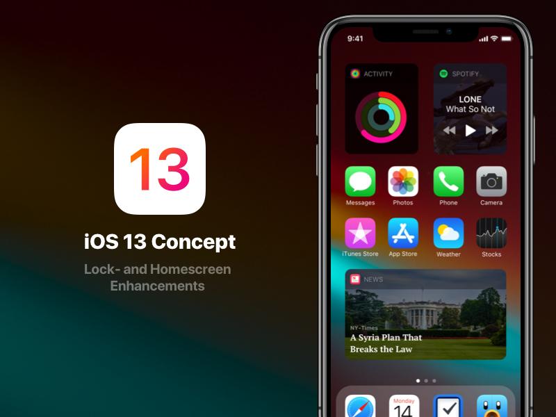 iOS 13: чего ждать, дата выходы, некоторые особенности