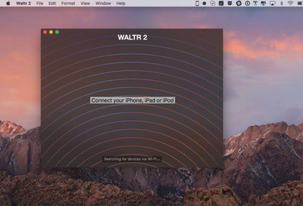 Запуск приложения Waltr