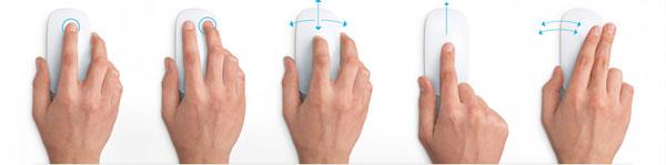 Управление Apple Magic Mouse