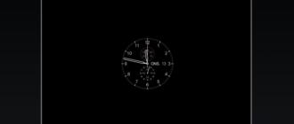 Циферблат Apple Watch в качестве скринсейвера на Mac