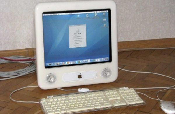 Дизайн eMac