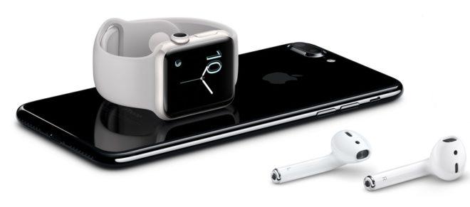 Bluetooth-наушники для iWatch и iPhone