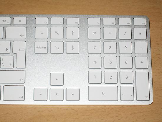 Правая часть Apple Keyboard