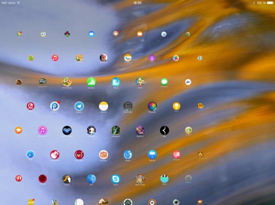 Интерфейс Apple Watch на iPad