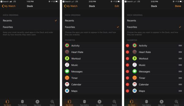 Управление приложениями в Dock через iPhone