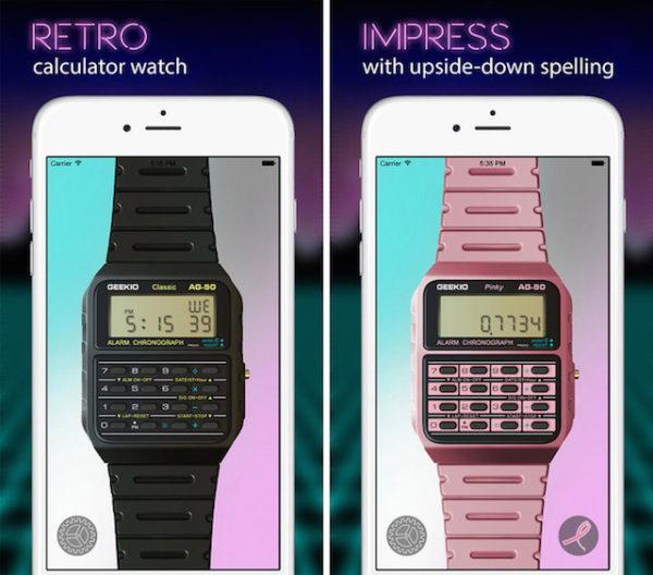 Ретро-часы Casio