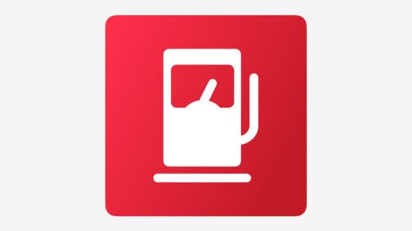 Значок команды для Siri «Необходима заправка»