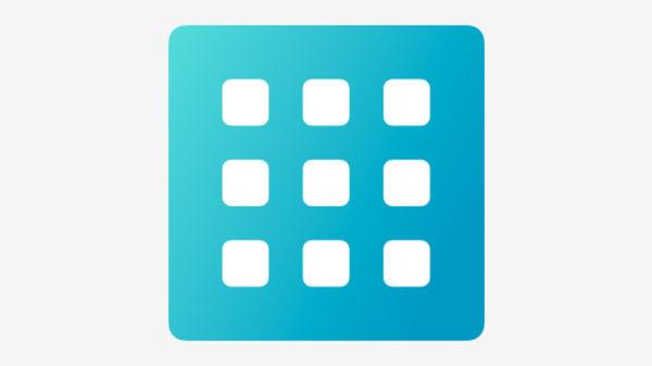 Значок команды для Siri «Создание коллажей»