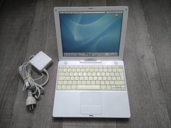 iBook на процессоре PowerPC G4