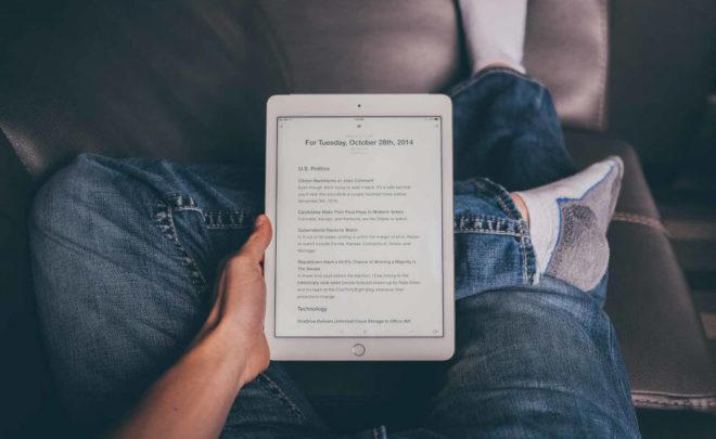 Как лучше читать книги на iPhone и iPad перед сном