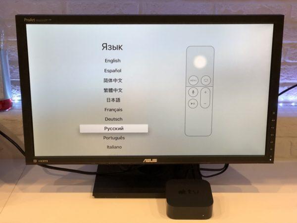 Подключение Apple TV к телевизору
