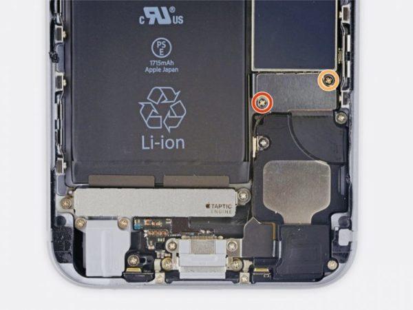 Замена аккумулятора в iPhone - шаг 5