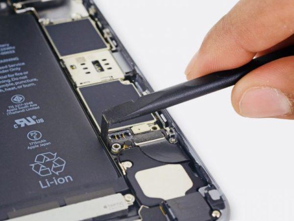 Замена аккумулятора в iPhone - шаг 7