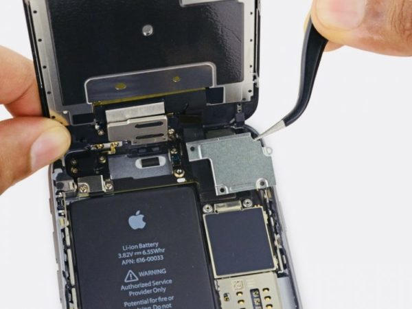 Замена аккумулятора в iPhone - шаг 9