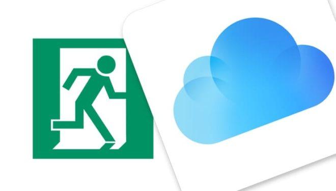 Как нужно выходить из учетной записи iCloud