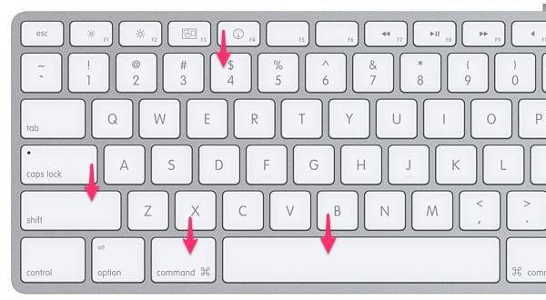 Сочетание клавиш для съемки активного окна в MacOS