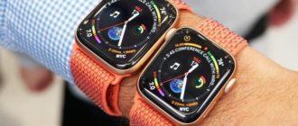 Apple Watch с дисплеем 40 и 44 мм