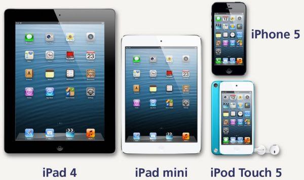 Отличия между iPod и IPad
