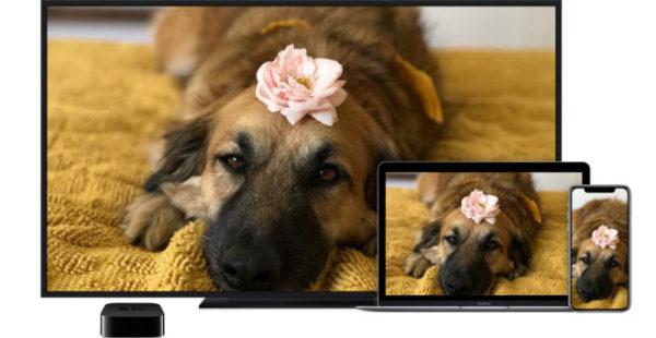 Вывод изображения на телевизор с iPhone и Mac через Apple TV