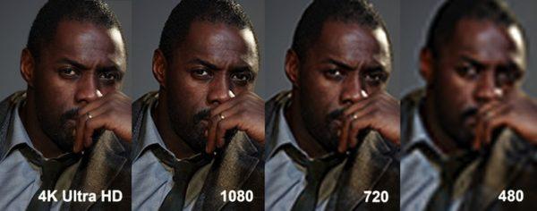 Чем отличаются 4K и 1080p