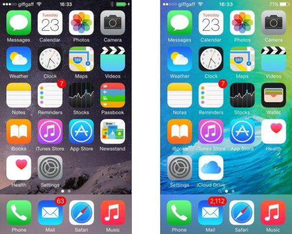 iOS на iPhone