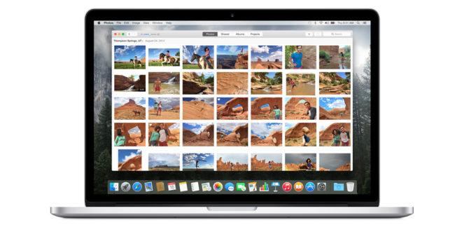 Использование приложения «Фото» в iCloud