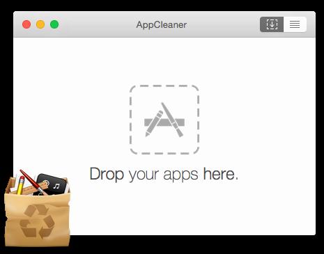Удаление программы на MacOS через App Cleaner - шаг 2