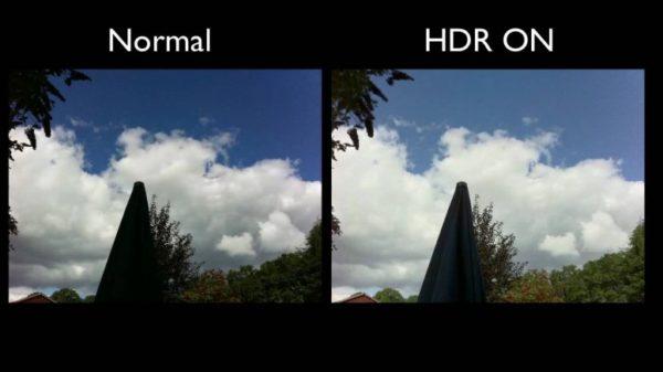 Инструмент HDR в приложении «Фото»
