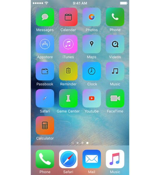 Установка новой темы оформления на iPhone и iPad через iSkin - шаг 7