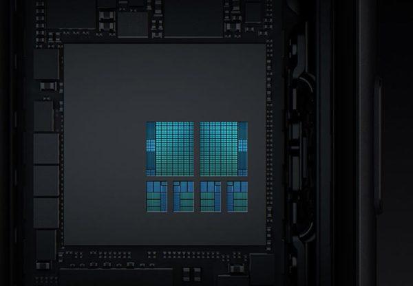 Обновлённые ядра CPU на общей площади кристалла A11