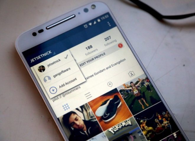 Как добавить несколько аккаунтов Instagram для iPhone