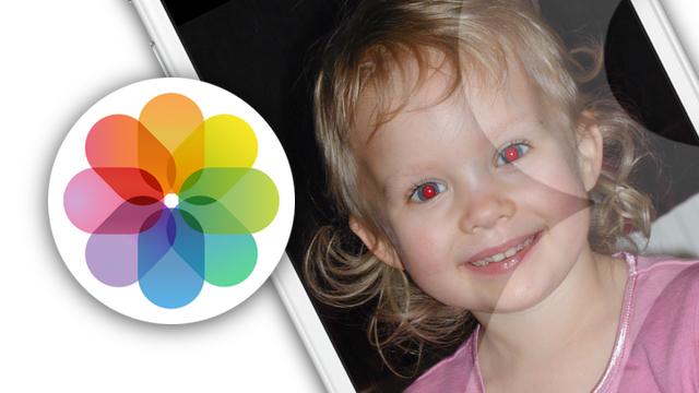 Способы избавиться от красных глаз на фото в iPhone и iPad