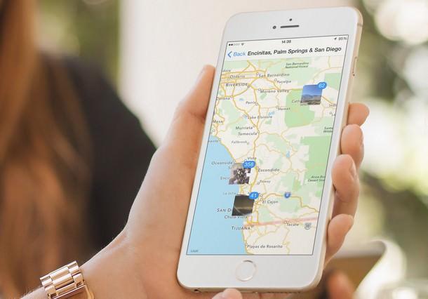 Как посмотреть на карте, где были сделаны фото и видео на iPhone или iPad