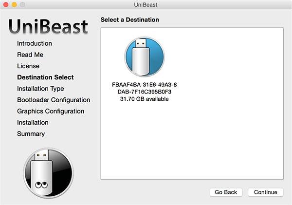 Создание загрузочной флешки с MacOS Sierra под Windows - шаг 4