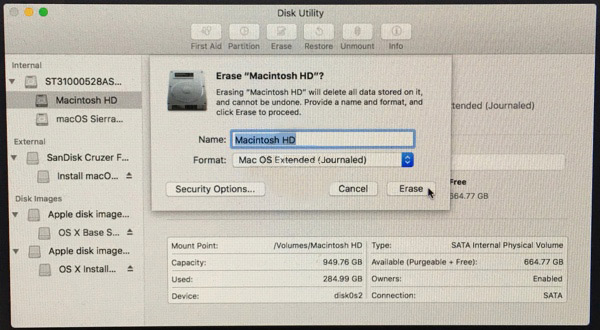 Установка MacOS Sierra на Windows - шаг 1