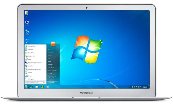 Как установить Windows на MacBook Air