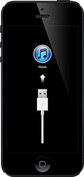 Значки iTunes и USB-кабеля