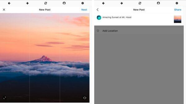 Публикация постов в Instagram на Mac и Windows через Windowed