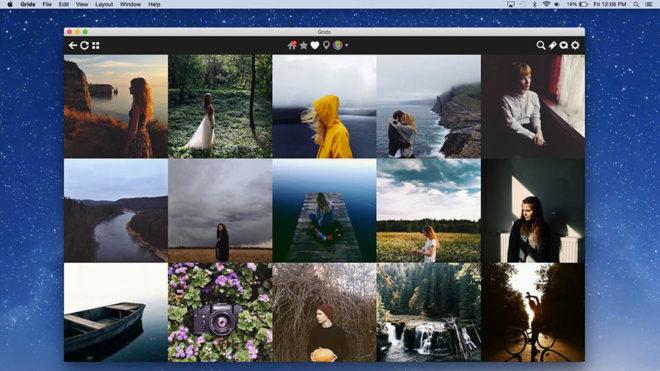 Работа с Instagram на Mac и Windows