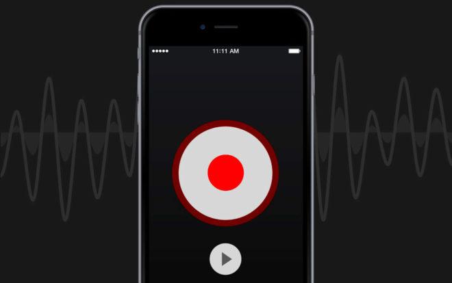Запись телефонного разговора на iPhone