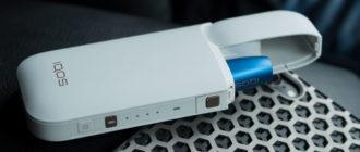 Система нагревания табака IQOS с Bluetooth
