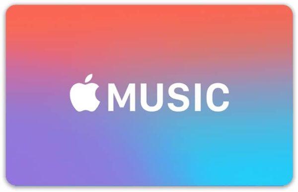 Подарочная карта для Apple Music