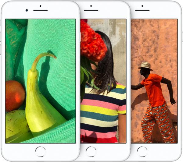 iPhone с дисплеем True Tone