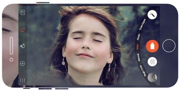 Съемка видео с помощью Musemage