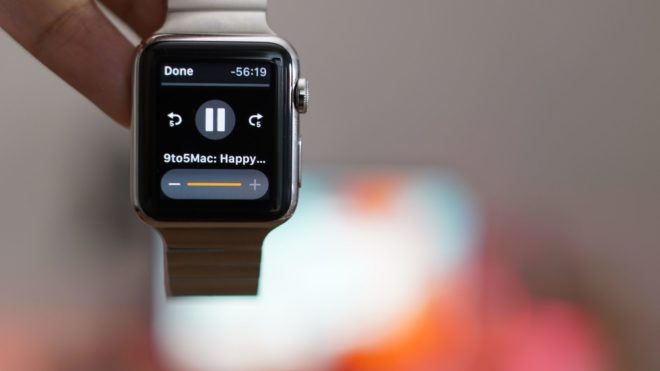 Отключение автозапуска окна музыкального плеера в Apple Watch