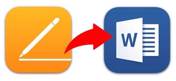 Сохранение файлов Pages в формате Word