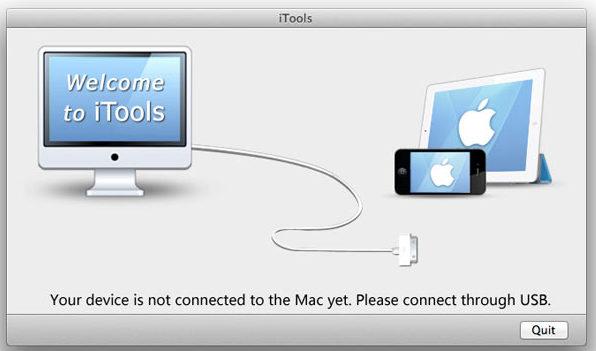 Запуск iTools - шаг 1